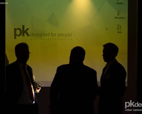peter kenkel spricht auf dem ihk business talk