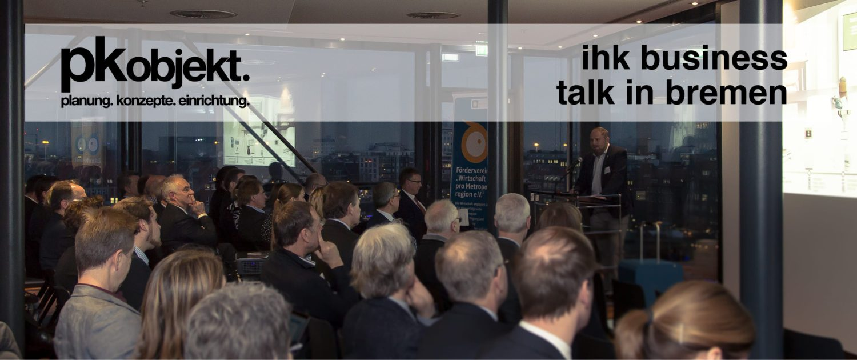 pk-objekt auf dem ihk business talk in bremen